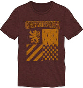 Harry Potter Gryffindor Element of Fire Men's Burgundy T-Shirt - Create Your Own Custom Apparel T-Shirts Home Decor Lifestyle The Harry Potter Store