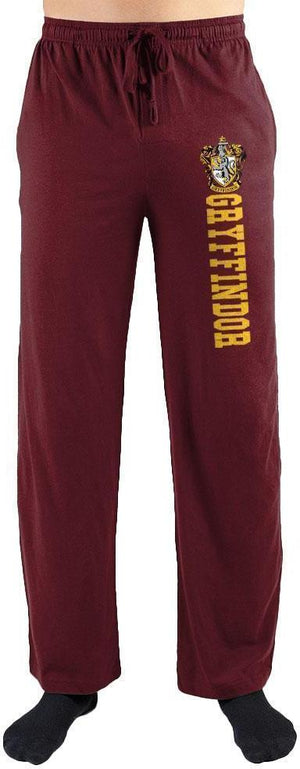 Harry Potter Gryffindor House Crest Print Men's Loungewear Lounge Pants - Create Your Own Custom Apparel T-Shirts Home Decor Lifestyle The Harry Potter Store