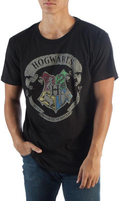 Harry Potter Hogwarts Blk T-Shirt - Create Your Own Custom Apparel T-Shirts Home Decor Lifestyle The Harry Potter Store