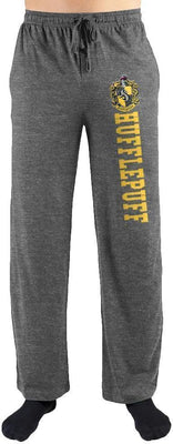 Harry Potter Hogwarts Hufflepuff House Print Mens Loungewear Lounge Pants - Create Your Own Custom Apparel T-Shirts Home Decor Lifestyle The Harry Potter Store