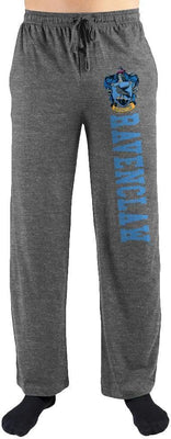 Harry Potter Hogwarts Ravenclaw House Print Mens Loungewear Lounge Pants - Create Your Own Custom Apparel T-Shirts Home Decor Lifestyle The Harry Potter Store