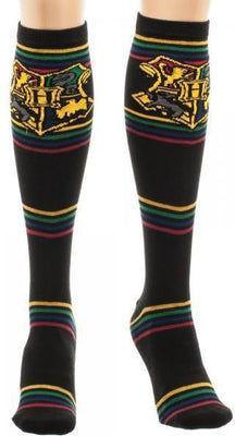 Harry Potter Hogwarts Striped Knee High Socks - Create Your Own Custom Apparel T-Shirts Home Decor Lifestyle The Harry Potter Store