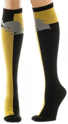Harry Potter Hufflepuff Juniors Knee High Socks - Create Your Own Custom Apparel T-Shirts Home Decor Lifestyle The Harry Potter Store