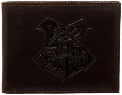 Harry Potter Leather Bi-Fold Wallet - Create Your Own Custom Apparel T-Shirts Home Decor Lifestyle The Harry Potter Store