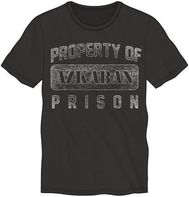Harry Potter Property of Azkaban Prison Men's Black T-Shirt Tee Shirt - Create Your Own Custom Apparel T-Shirts Home Decor Lifestyle The Harry Potter Store