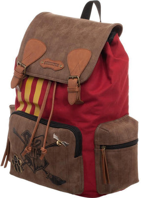 Harry Potter Quidditch Bag  Harry Potter Rucksack w/ Convenient Side Pockets - Create Your Own Custom Apparel T-Shirts Home Decor Lifestyle The Harry Potter Store