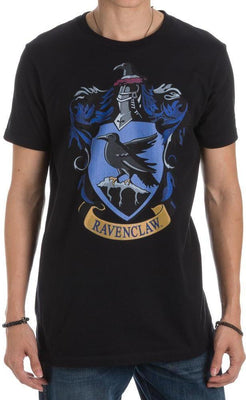 Harry Potter Ravenclaw Crest Men's Black T-Shirt - Create Your Own Custom Apparel T-Shirts Home Decor Lifestyle The Harry Potter Store