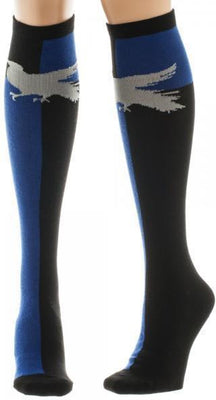 Harry Potter Ravenclaw Juniors Knee High Socks - Create Your Own Custom Apparel T-Shirts Home Decor Lifestyle The Harry Potter Store