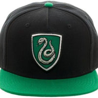 Harry Potter Slytherin Crest Snapback - Create Your Own Custom Apparel T-Shirts Home Decor Lifestyle The Harry Potter Store