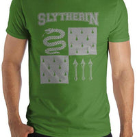 Harry Potter Slytherin Element of Water Men's Green T-Shirt - Create Your Own Custom Apparel T-Shirts Home Decor Lifestyle The Harry Potter Store