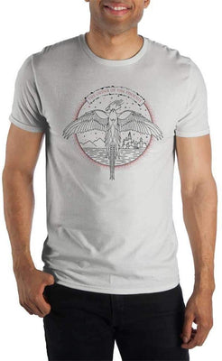Harry Potter The Order Of The Phoenix Logo Men's White T-Shirt - Create Your Own Custom Apparel T-Shirts Home Decor Lifestyle The Harry Potter Store