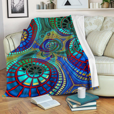 Hippy Trippy Day Dream Blanket - Create Your Own Custom Apparel T-Shirts Home Decor Lifestyle The Harry Potter Store
