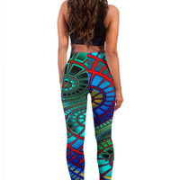 Hippy Trippy Day Dream Leggings - Women's Leggings - Create Your Own Custom Apparel T-Shirts Home Decor Lifestyle The Harry Potter Store