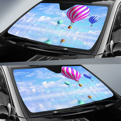 Hot Air Balloon - Car Window Shades - Create Your Own Custom Apparel T-Shirts Home Decor Lifestyle The Harry Potter Store