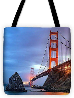 I Left My Heart In San Francisco - Tote Bag - Create Your Own Custom Apparel T-Shirts Home Decor Lifestyle The Harry Potter Store