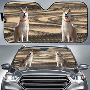korean jindo dog Auto Sun Shade - Create Your Own Custom Apparel T-Shirts Home Decor Lifestyle The Harry Potter Store