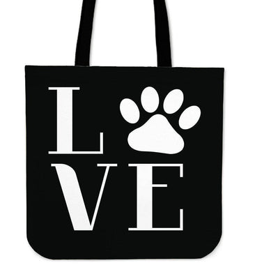 Love Dogs Tote Bag - Create Your Own Custom Apparel T-Shirts Home Decor Lifestyle The Harry Potter Store