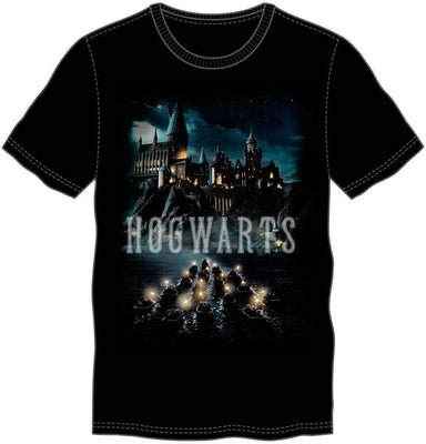 Men's Black T-Shirt - Harry Potter Deathly Hallows Logo - Create Your Own Custom Apparel T-Shirts Home Decor Lifestyle The Harry Potter Store