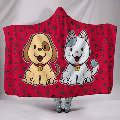My Dog and Cat Hooded Blanket - Create Your Own Custom Apparel T-Shirts Home Decor Lifestyle The Harry Potter Store