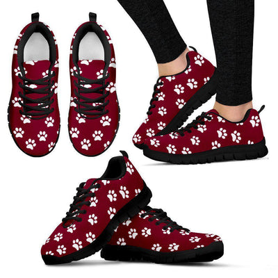 Paw print Women's sneakers - Create Your Own Custom Apparel T-Shirts Home Decor Lifestyle The Harry Potter Store