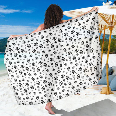 Paw Prints - Women's Sarong - Create Your Own Custom Apparel T-Shirts Home Decor Lifestyle The Harry Potter Store