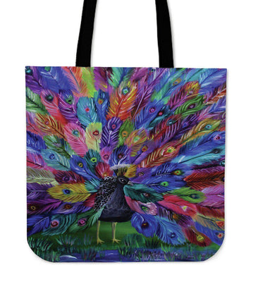 Peacock Tote - Create Your Own Custom Apparel T-Shirts Home Decor Lifestyle The Harry Potter Store