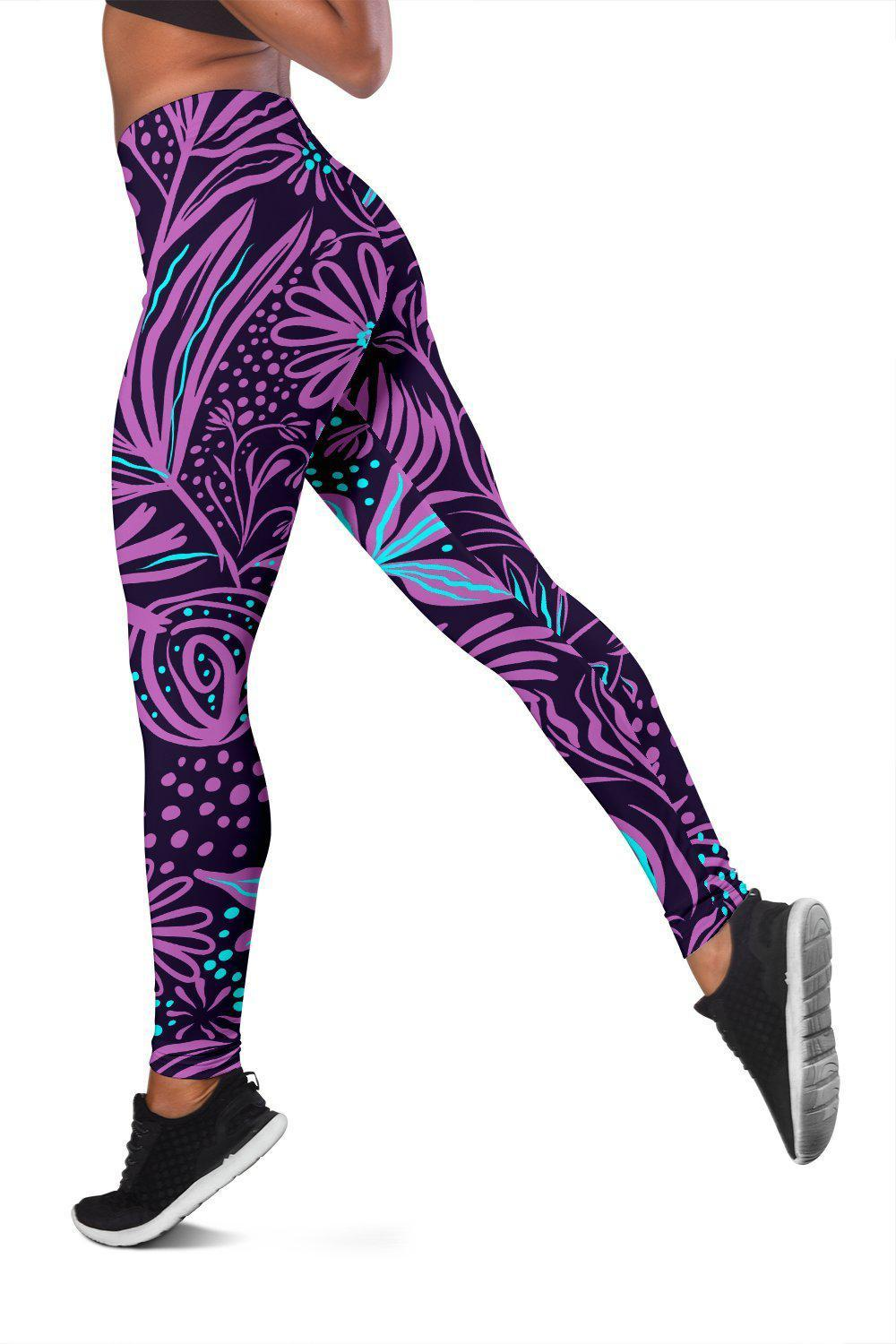 Purple - Women's Leggings - Create Your Own Custom Apparel T-Shirts Home Decor Lifestyle The Harry Potter Store