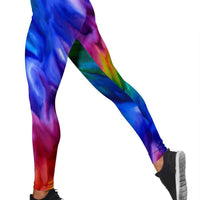 Rainbow Leggings - Create Your Own Custom Apparel T-Shirts Home Decor Lifestyle The Harry Potter Store