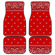 Red Bandana Floor Mats - Create Your Own Custom Apparel T-Shirts Home Decor Lifestyle The Harry Potter Store