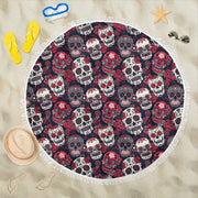 Skull Lovers Beach Blanket - Create Your Own Custom Apparel T-Shirts Home Decor Lifestyle The Harry Potter Store