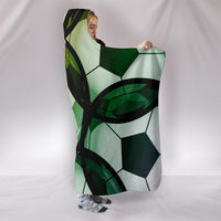 Soccer Hooded Blanket - Create Your Own Custom Apparel T-Shirts Home Decor Lifestyle The Harry Potter Store