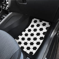 Soccer Pattern Front And Back Car Mats (Set Of 4) - Create Your Own Custom Apparel T-Shirts Home Decor Lifestyle The Harry Potter Store