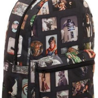 Star Wars Photo Album Sublimated Backpack - Create Your Own Custom Apparel T-Shirts Home Decor Lifestyle The Harry Potter Store