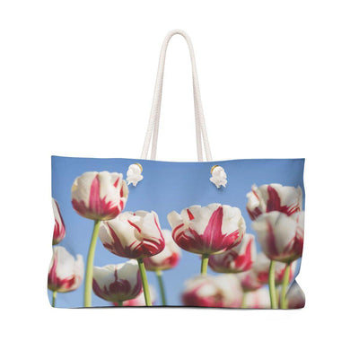 The Tulips - Flowers Weekender Tote Bag - Create Your Own Custom Apparel T-Shirts Home Decor Lifestyle The Harry Potter Store