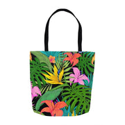 Tropical Jungle Print Tote Bags - Create Your Own Custom Apparel T-Shirts Home Decor Lifestyle The Harry Potter Store