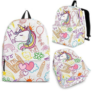Unicorn Backpack - Create Your Own Custom Apparel T-Shirts Home Decor Lifestyle The Harry Potter Store