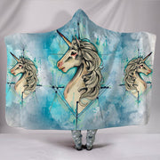Unicorn Universe Plush Hooded Blanket - Create Your Own Custom Apparel T-Shirts Home Decor Lifestyle The Harry Potter Store