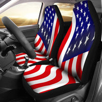 USA Flag Car Seat Covers - Create Your Own Custom Apparel T-Shirts Home Decor Lifestyle The Harry Potter Store