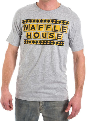 Waffle House Logo T-Shirt-Licensed Merchandise-Unique Gifts And Apparel - Shop Your Gift Emporium
