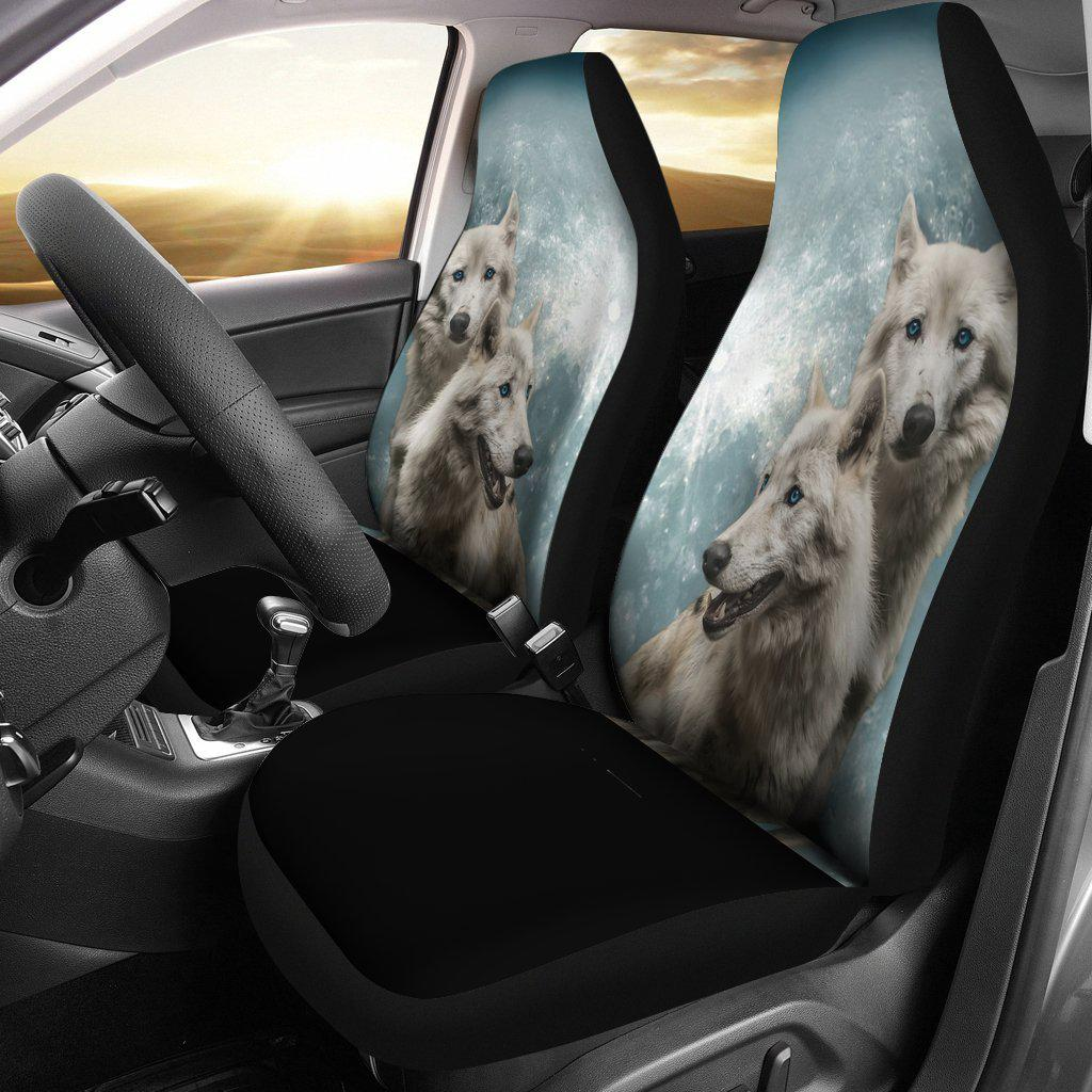 Wolves Car Seat Cover