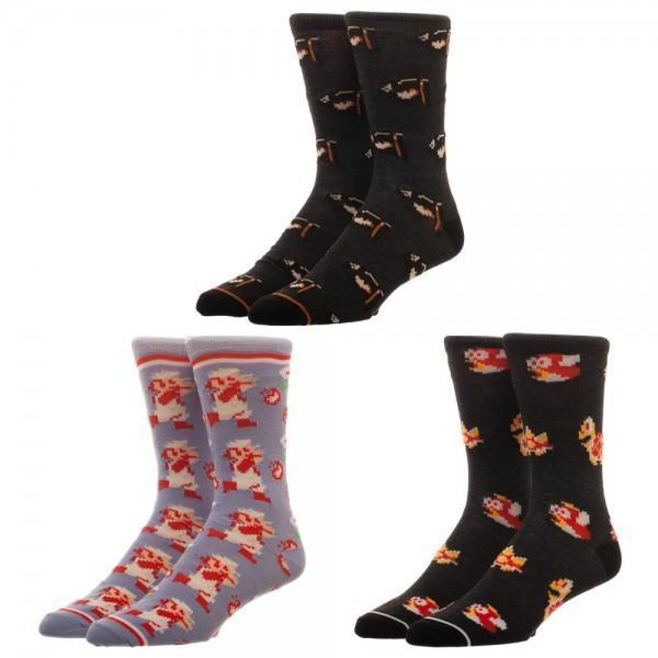 Wonder Woman 3 Pack Crew Set Socks For Women - Create Your Own Custom Apparel T-Shirts Home Decor Lifestyle The Harry Potter Store