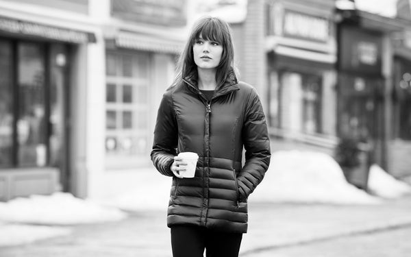À PROPOS DE NOTRE MANTEAU||ABOUT OUR PACKABLE JACKET