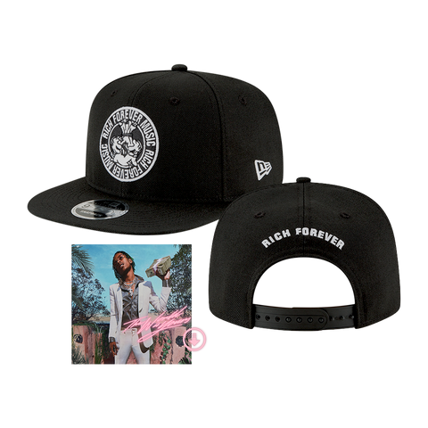 RICH THE KID ORIGINAL FIT 9FIFTY SNAPBACK CAP BY NEW ERA + DIGITAL ALBUM