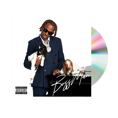 BOSSMAN SIGNED CD + DIGITAL ALBUM