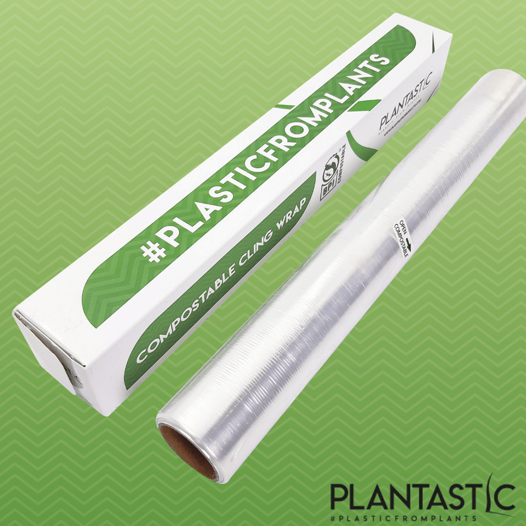 Compostable and Biodegradable Cling Food Wrap