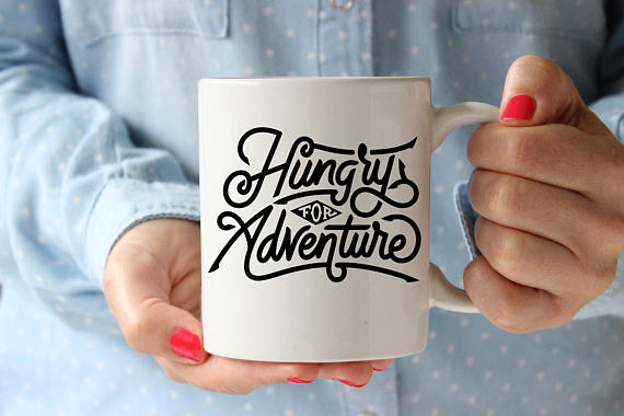 Hungry For Adventure Coffee Mug