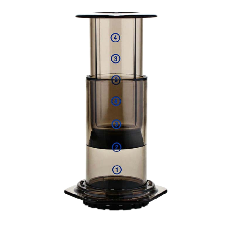 Air Press Coffee Maker With 350 Paper Filters