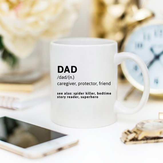 Father Definition Coffee Mug
