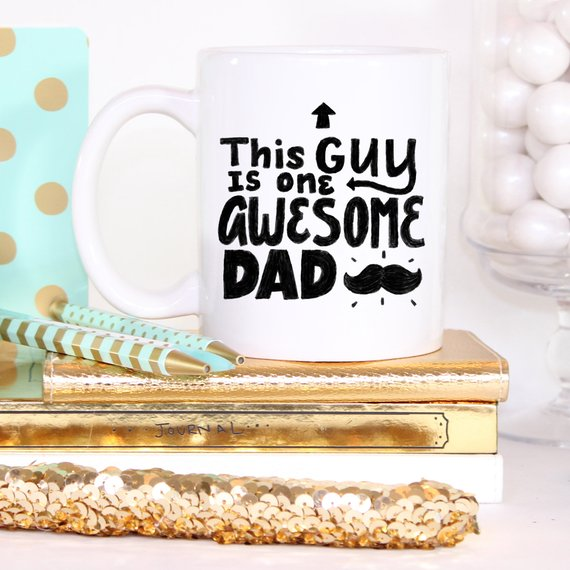 This Guy Is One Awesome Dad Coffee Mug