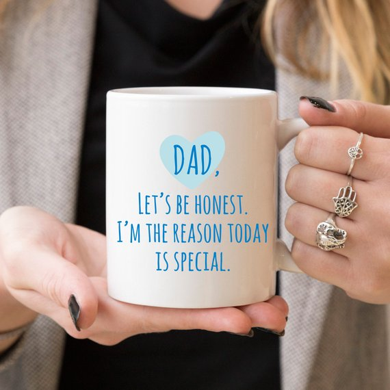 Dad, Let's Be Honest Coffee Mug